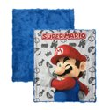 2-Piece Super Mario Kids Decor Pillow and Throw Set