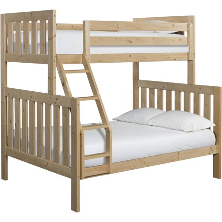Canwood Lakecrest Twin Over Full Bunk Bed Natural