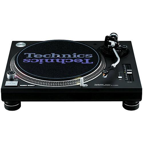 Technics SL-1210MK5 Black Record Turntable by Panasonic