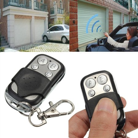 New ABCD 4 Channel Electric Universal Gate Garage Door Remote Key Control Transmitter Key Fob 270MHz~434MHz Cloning Transmitt Key Fob