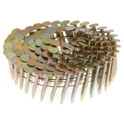 "Grip Rite GRCR3TRC 3"" x .120"" x 15-Degree Hot Dipped Galv Coil Roofing Nails 600"