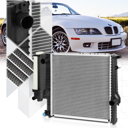 Bmw Radiator Support (Aluminum Core Radiator OE Replacement for 91-99 BMW 318i/318IS/318TI/Z3 dpi-1295 92 93 94 95 96 97 98)