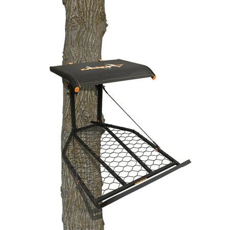Fall Arrest Rope - BOSS XL Hang On w/ Flex-tek seat / Flip Up Seat - Full Body Fall Arrest Harness Included
