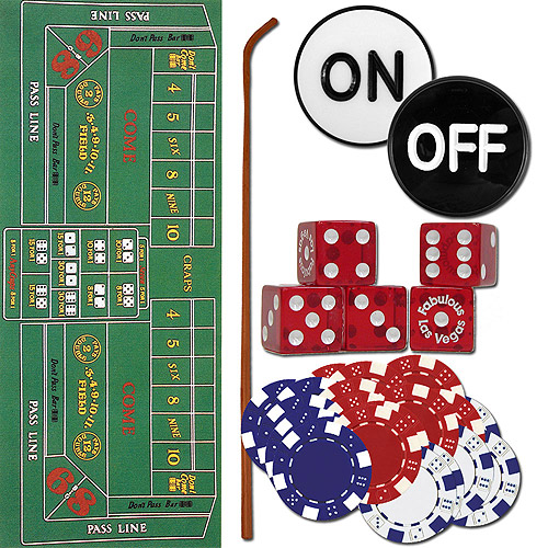 Trademark Poker Craps Set