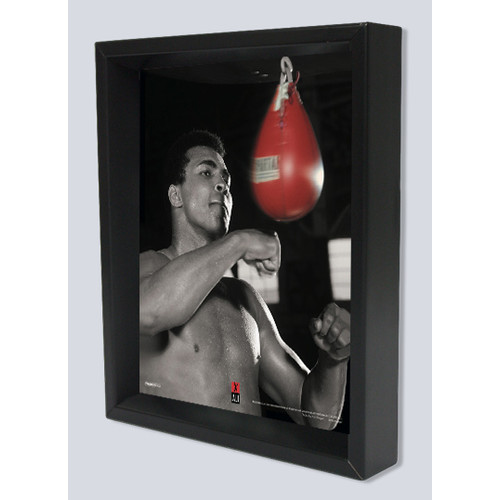 Pyramid America 'Ali Speed Bag' Framed Photographic Print