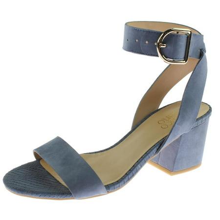 d28658ef2 Franco Sarto - Franco Sarto Womens Marcy Suede Block Heel Dress Sandals -  Walmart.com
