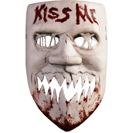Life Like Masks Halloween (Trick or Treat Studios The Purge: Election Year Kiss Me Mask for Adults, One Size, Looks Just Like Kimmy the)