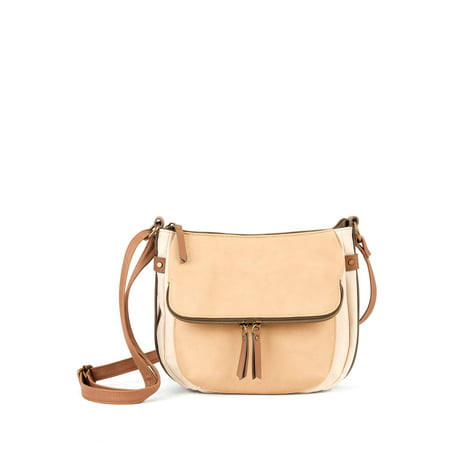 Time and Tru Dayana Essential Crossbody Bag with Adjustable Strap