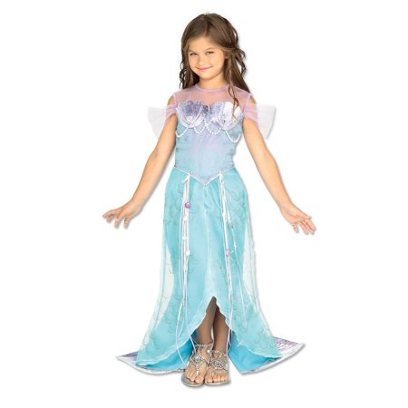 Diy Mermaid Halloween Costumes (Kids Mermaid Deluxe Costume M)
