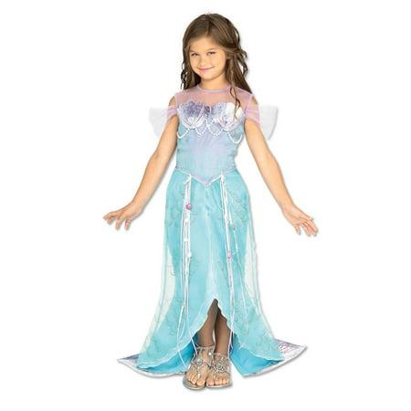 Kids Mermaid Deluxe Costume