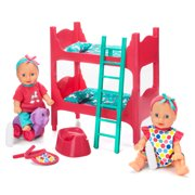 Kid Connection Baby Room Play Set, Blue Eyes, Light Skin Tone
