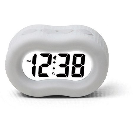 Timelink Rubber Fashion Alarm Clock (Black Old Fashion Alarm Clock)