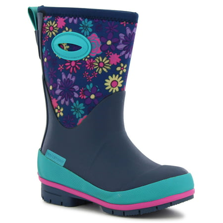 Western Chief Girls' Wild Flower Neoprene - Hot Girls Boots