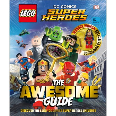 Lego(r) DC Comics Super Heroes the Awesome Guide - Super Hero Letters