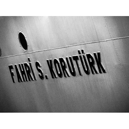 LAMINATED POSTER Turkey Porthole Ferry Ship Istanbul Bosphorus Poster Print 24 x 36](Ship Porthole)