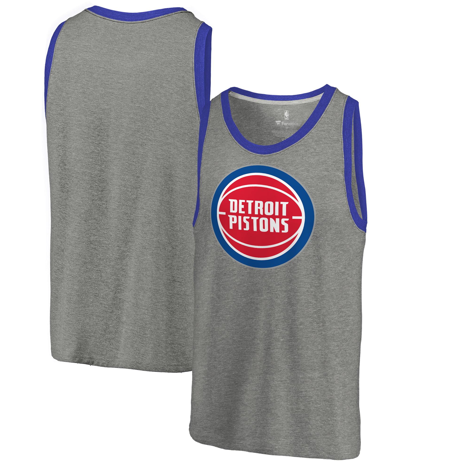 Detroit Pistons Team Essential Tank Top - Heather Gray