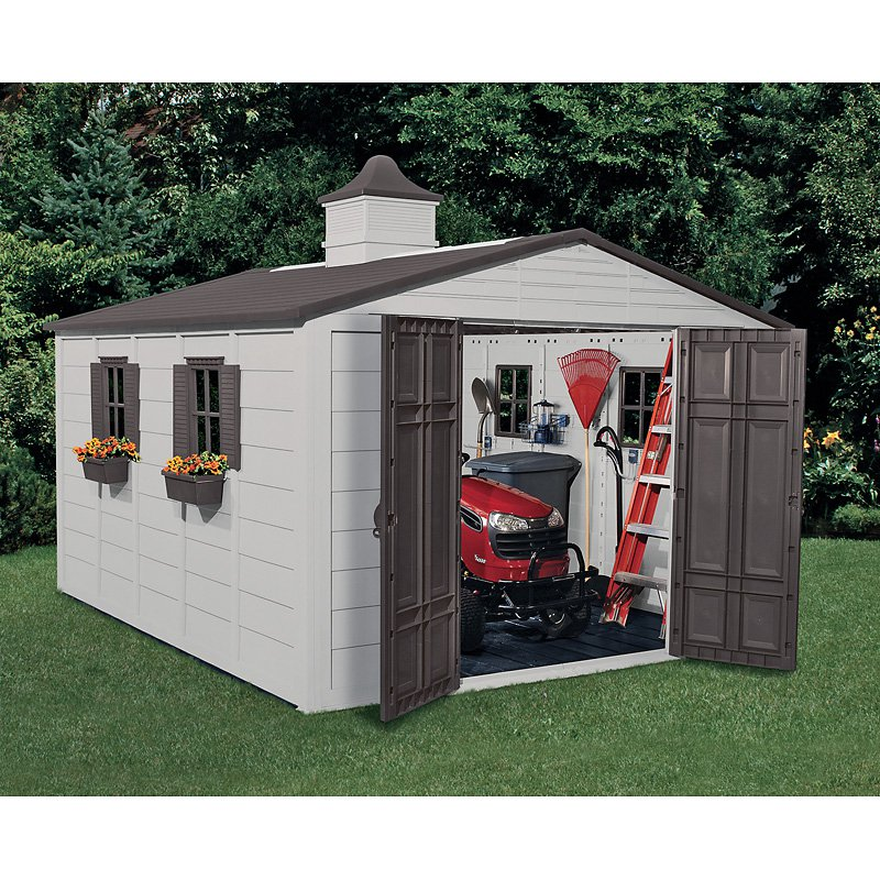 Suncast 10' x 12.5' Outdoor Storage Building / Shed