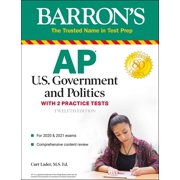 AP US Government and Politics : With 2 Practice Tests