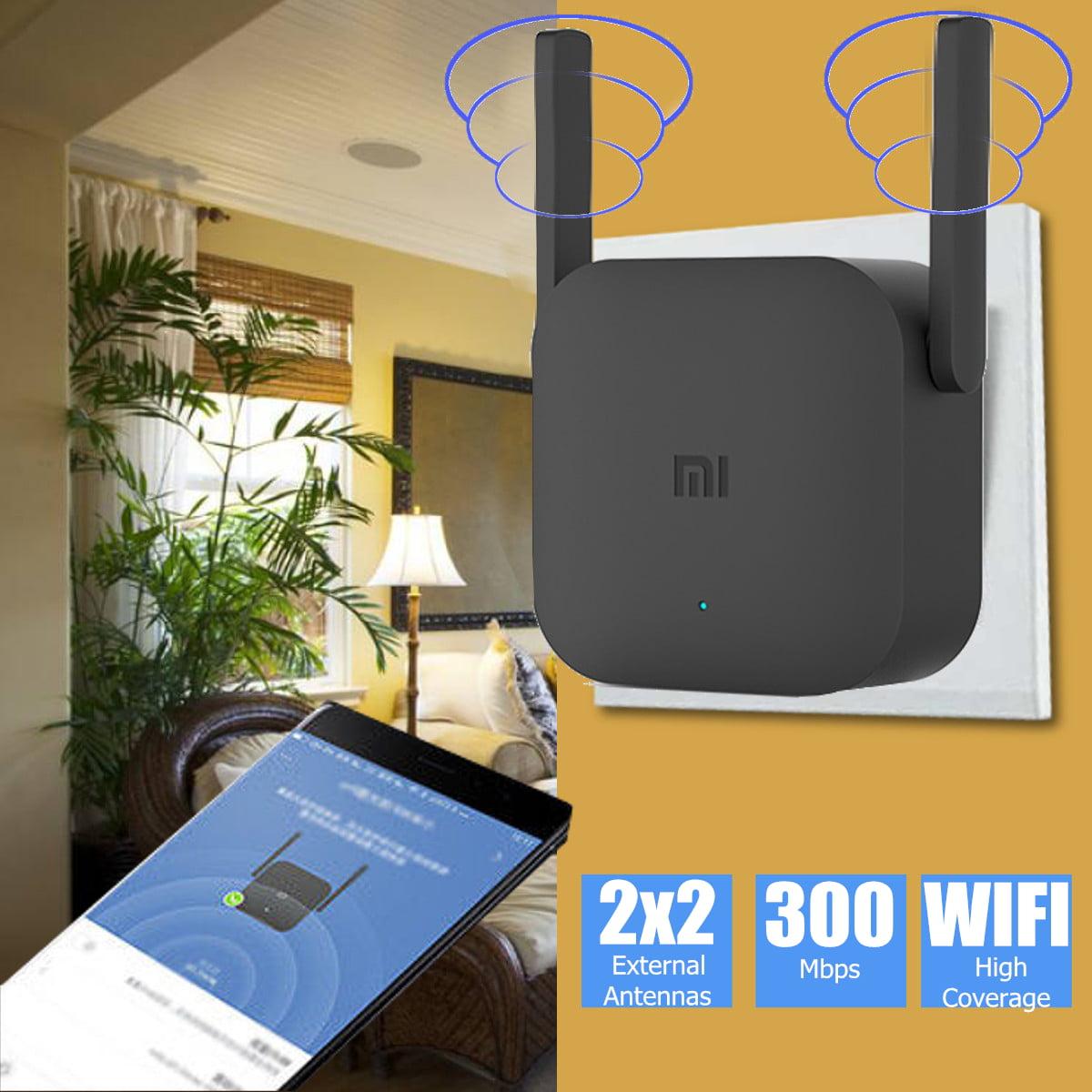 Moaere Pro 300Mbs WiFi Range Extender Internet Booster ...