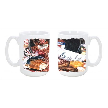 Red Beans and Rice Dishwasher Safe Microwavable Ceramic Coffee Mug 15 (Jura A1 Bean To Cup Coffee Machine)