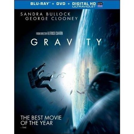 Gravity  Blu Ray   Dvd   With Ultraviolet   Widescreen