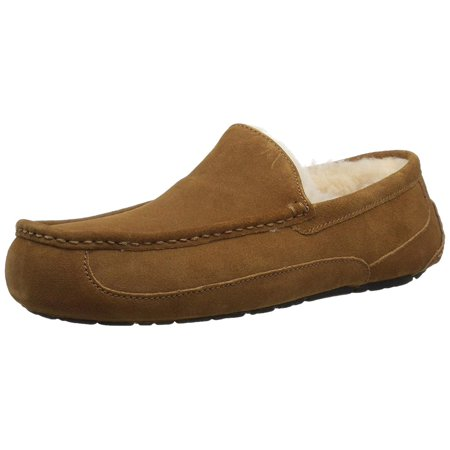 f63ff0c2182 Ugg Australia Mens Ascot Suede Closed Toe Slip On Slippers