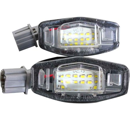 Honda Graphic Number Plate (Car Auto LED Number License Plate Light Lamp for Honda Accord Odyssey Acura TSX Civic 01-05 )