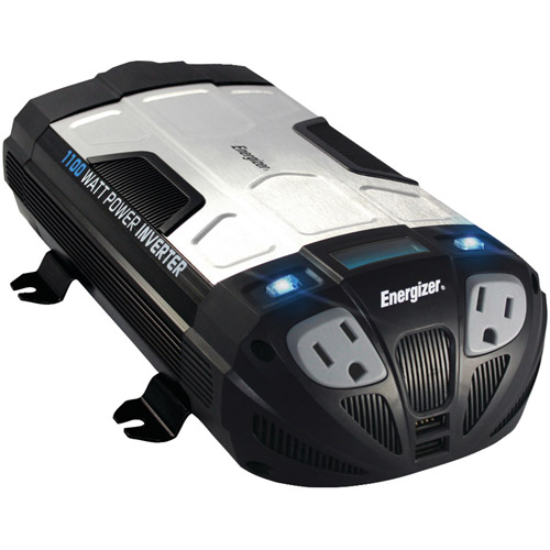 Energizer EN1100 12-Volt 1,100-Watt Power Inverter