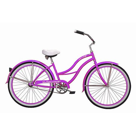 26 micargi tahiti women 39 s beach cruiser bike purple. Black Bedroom Furniture Sets. Home Design Ideas
