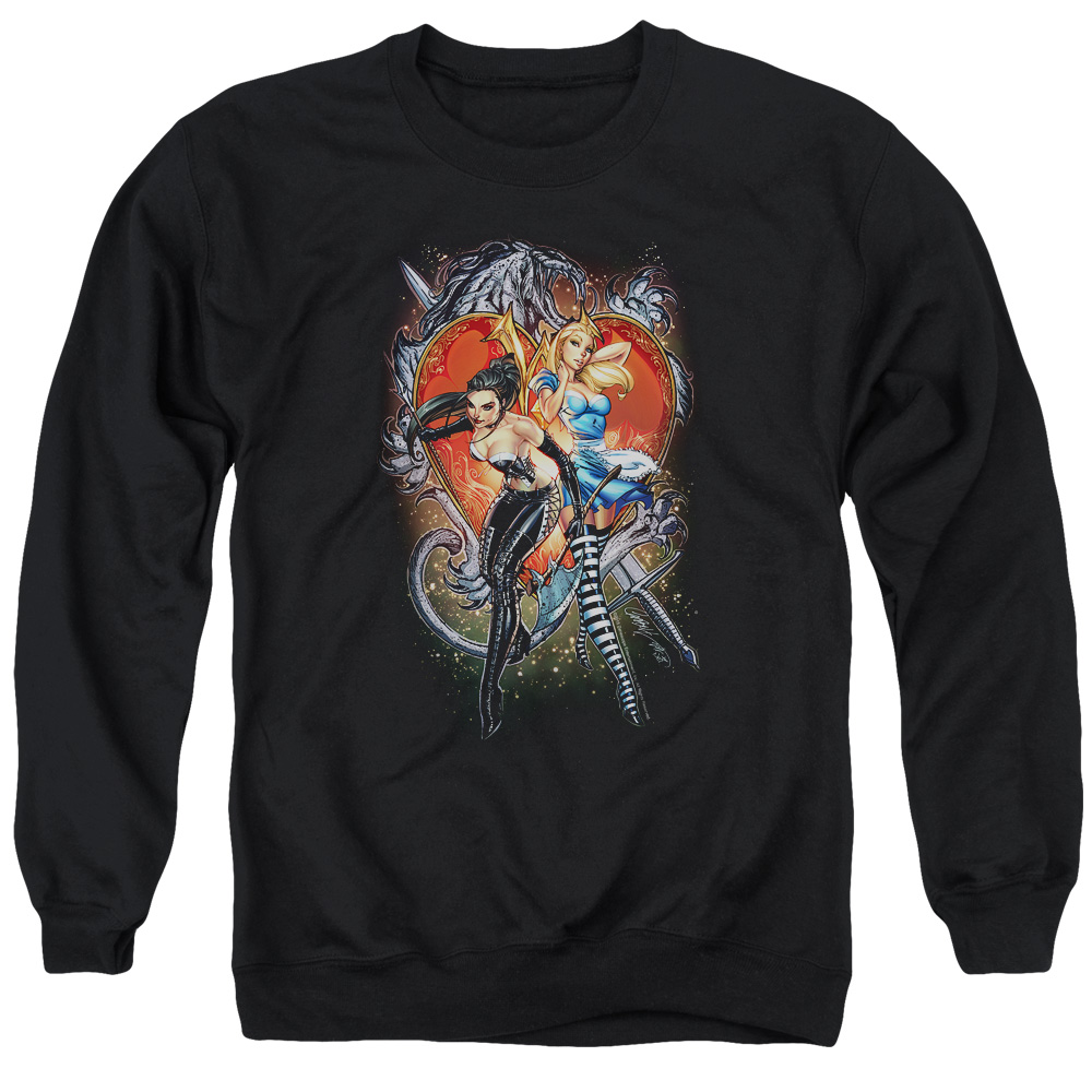 Zenescope Heart Mens Crewneck Sweatshirt