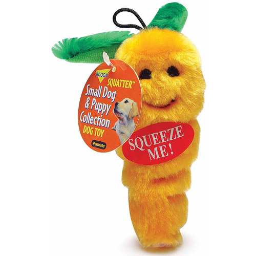 Petmate Doskocil Co. Inc. Carrot Dog Toy, Small