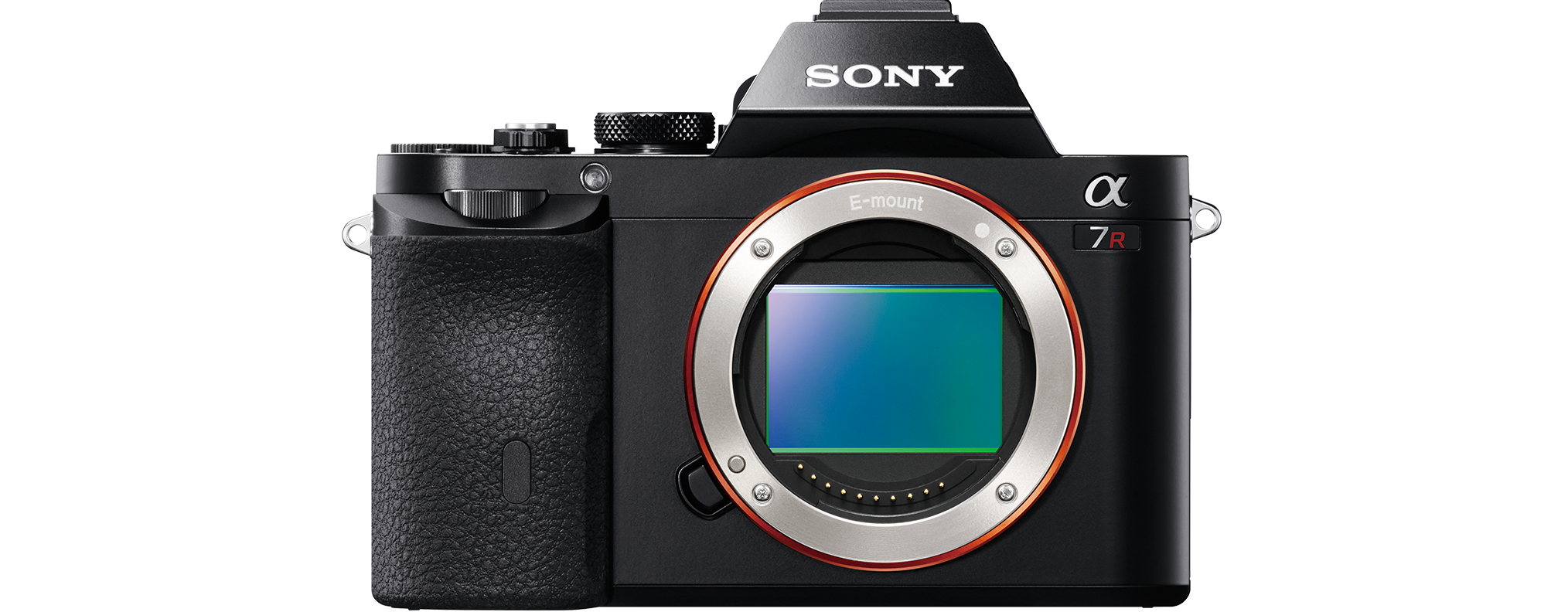 Sony Alpha a7R Full Frame Mirrorless Camera Black by Sony