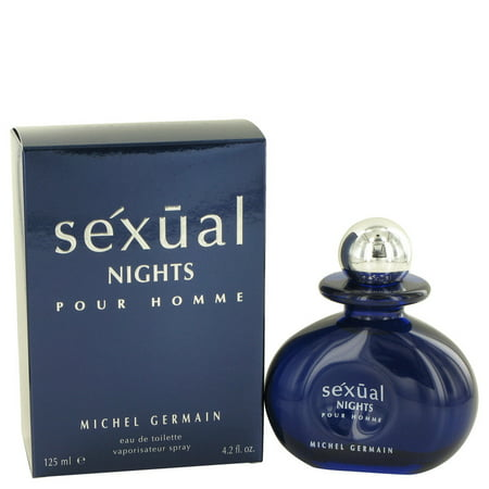 Michel Germain Sexual Nights Eau De Toilette Spray for Men 4.2 oz