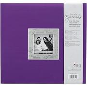 "Expressions Post Bound Album, 12"" x 12"", Friends, Purple"