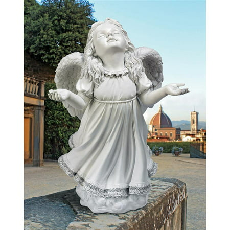 Our Lady Of Grace Statues (Design Toscano In God's Grace Angel Statue )