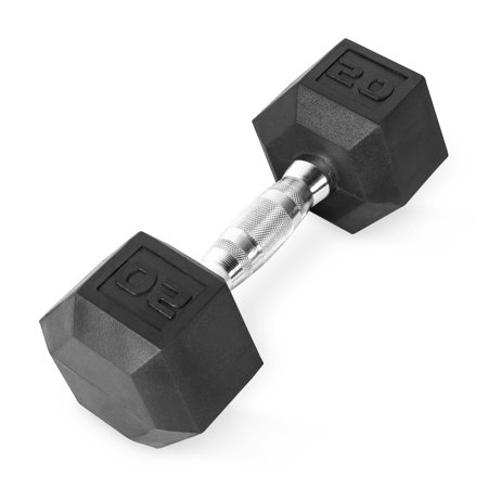 CAP Barbell Coated Hex Dumbbell, Single 20 lbs