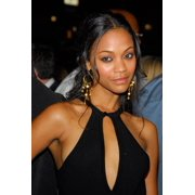 Zoe Saldana At Arrivals For Mission Impossible Iii Premiere Rolled Canvas Art (8 x 10) by Everett Collection