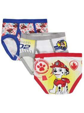 PAW Patrol Anchor Medley Boys Underwear, 3 Pack Briefs (Little Boys)