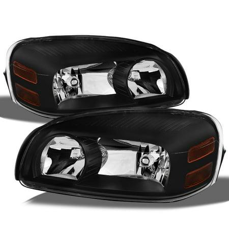 - Fit 05-09 Uplander Montana 05-07 Terraza Relay Replacement Headlights Black Pair