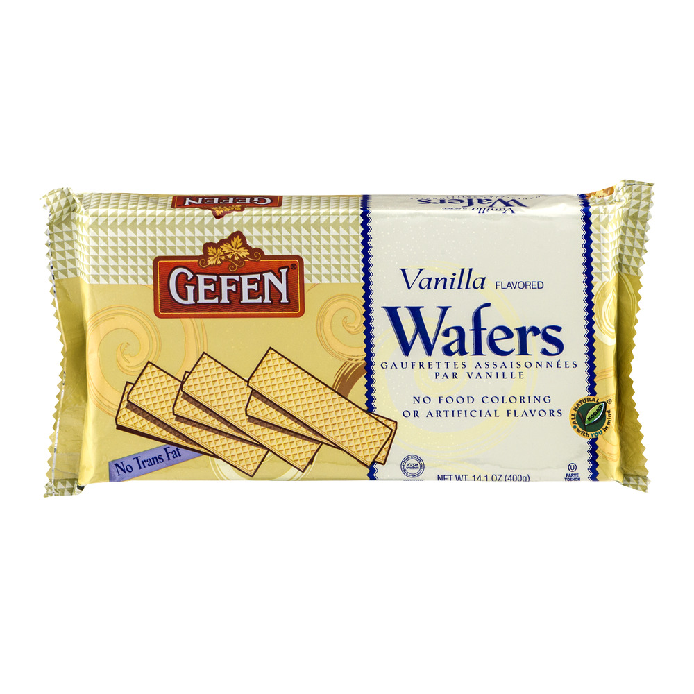 Gefen Wafers Vanilla, 14.1 OZ