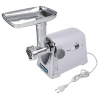 Anauto Electric Meat Grinder 1600W Heavy Duty Stainless Steel Industrial Meat Grinder Butcher Shop Grinding Tool