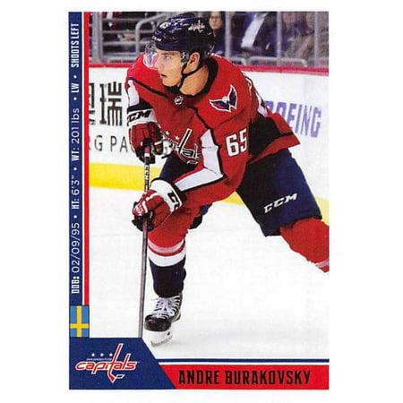 2018-19 Panini NHL Stickers #264 Andre Burakovsky Washington Capitals Hockey Card