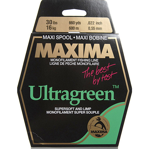 Maxima America 660 yd Maxi Spool Fishing Line, Green by Generic