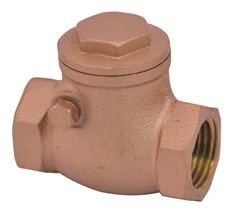 Proplus Swing Check Valve With Brass Body, 1-1/4 In. Fip, Lead Free