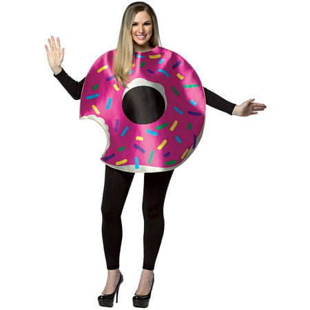 Strawberry Donut Men's Adult Halloween Costume - Strawberry Halloween Costume