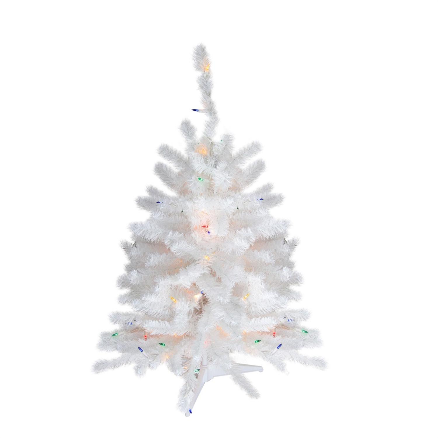 Holiday Time Pre-Lit 6.5\' Madison Pine Artificial Christmas Tree ...