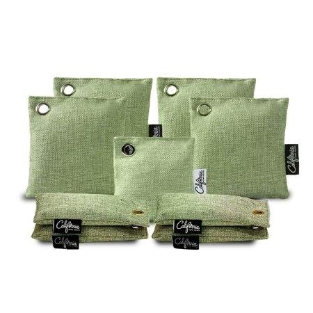 California Home Goods Green Charcoal Bag Bundle 9-Pack