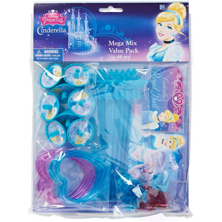 Cinderella Party Favor Pack, Value Pack, Party Supplies