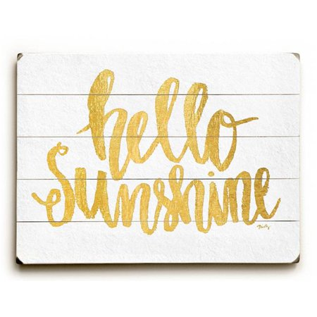 Sun Decor - One Bella Casa Hello Sunshine - Wall Decor by Misty Diller