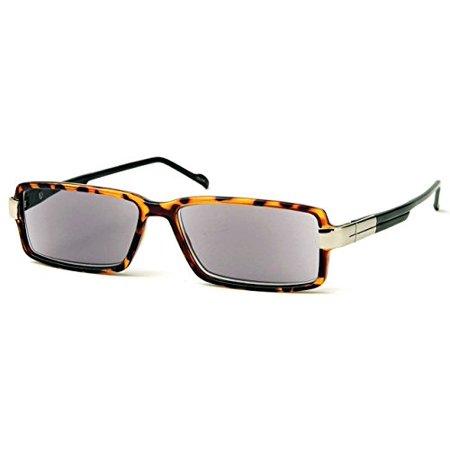 4baa5873c4e Solo - Fashion Rectangular Women Sun Readers Sunglasses -80 s Turner ...